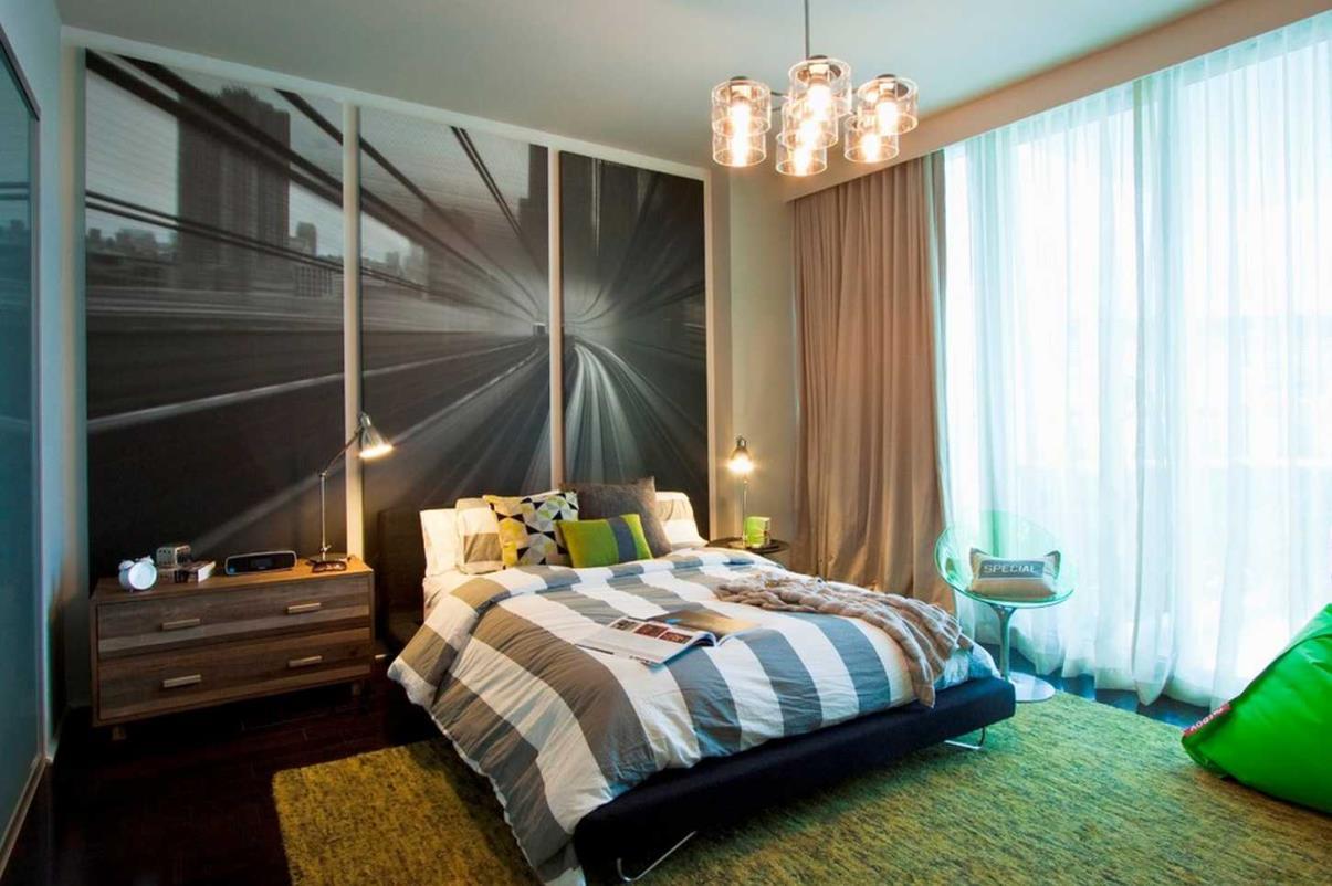 Подростковые спальни для мальчиков фото