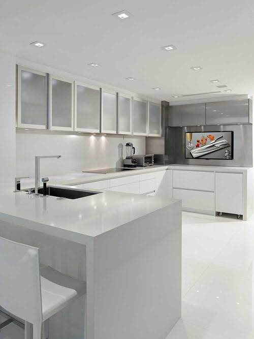 Modern Kitchen In Miami