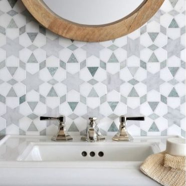 Modern Moroccan Bathroom Tile Install